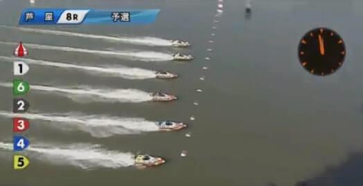 競艇のスタート