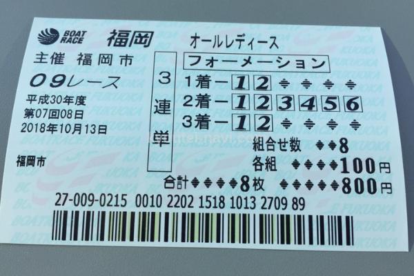 福岡なでしこカップ9R