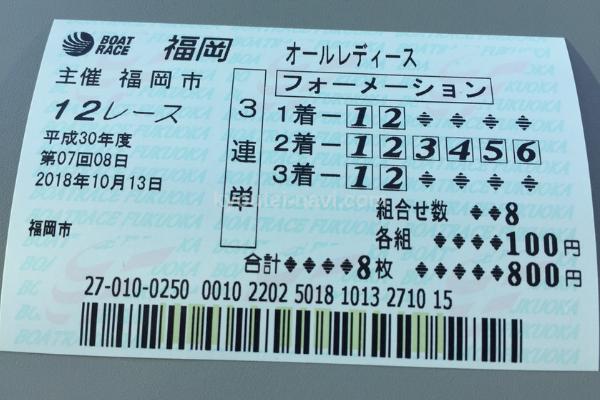 福岡なでしこカップ12R
