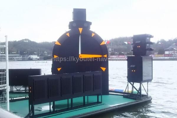 競艇の大時計