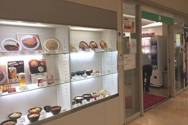 福岡競艇場のレストラン