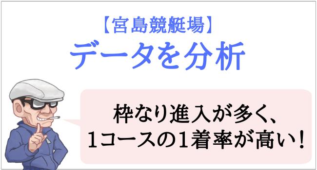 宮島競艇場のデータ