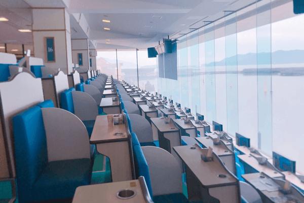 徳山競艇場の指定席
