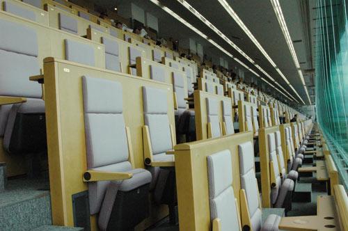 戸田競艇場の特別観覧席