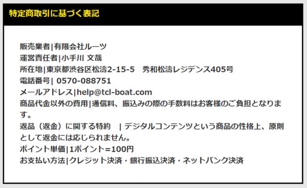 ボートテクニカルの運営者情報