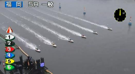 福岡5Rのスタート