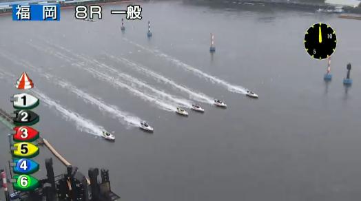 福岡8Rのスタート