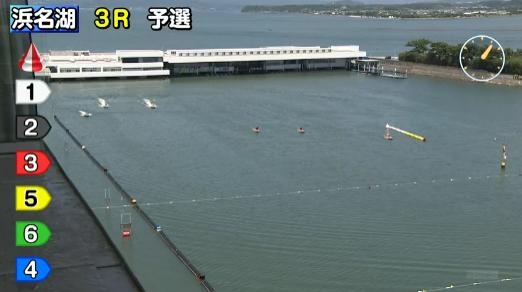 浜名湖競艇場の進入隊形
